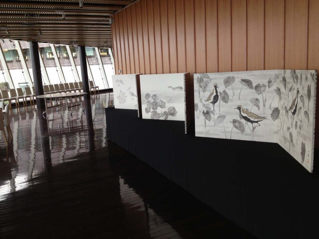 YANBARU BYOBU EXHIBITION at OIST