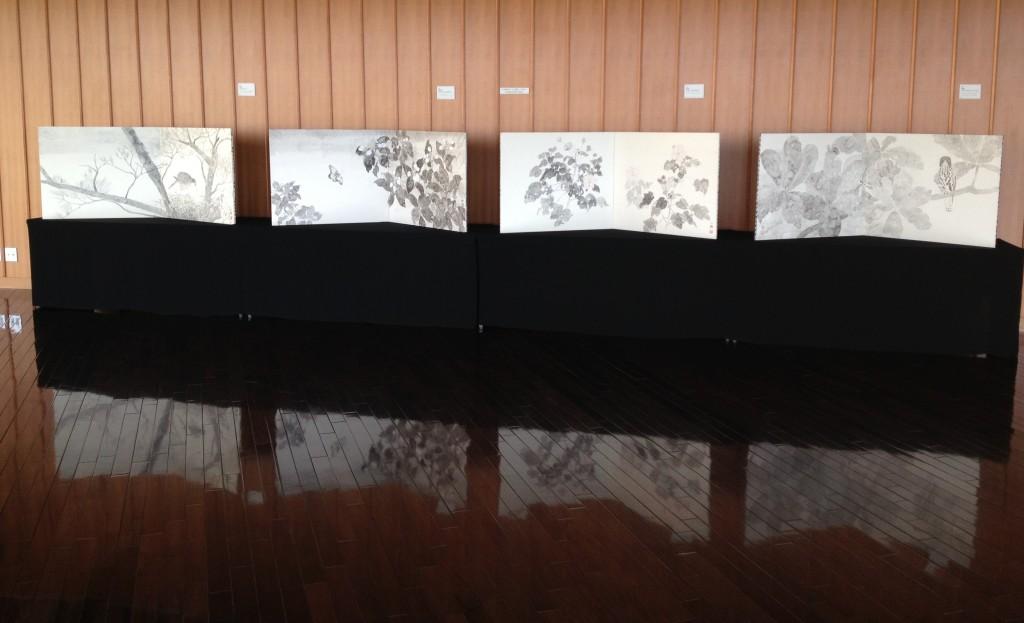 YANBARU BYOBU EXHIBITION at OIST